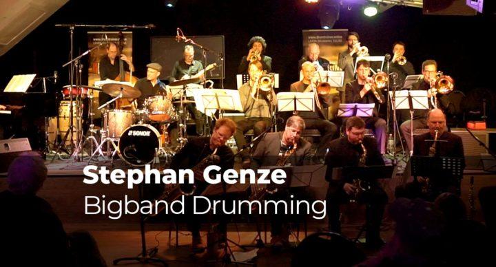 Bigband Drumming mit Stephan Genze
