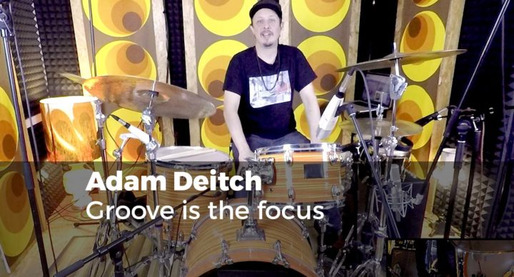 Adam Deitch - Groove is the focus