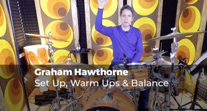 Set Up, Warm Ups & Balance with Graham Hawthorne