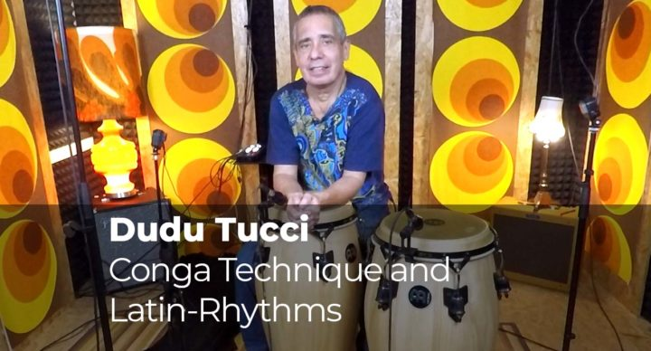 Conga Technique and Latin-Rhythms with Dudu Tucci
