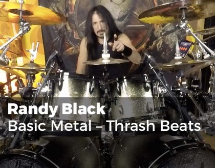 Basic Metal - Thrash Beats with Randy Black